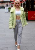 Grace Chatto spotted arriving at Capital Radio in London