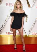 Hailey Baldwin attends the REVOLVE Awards in Hollywood, Los Angeles