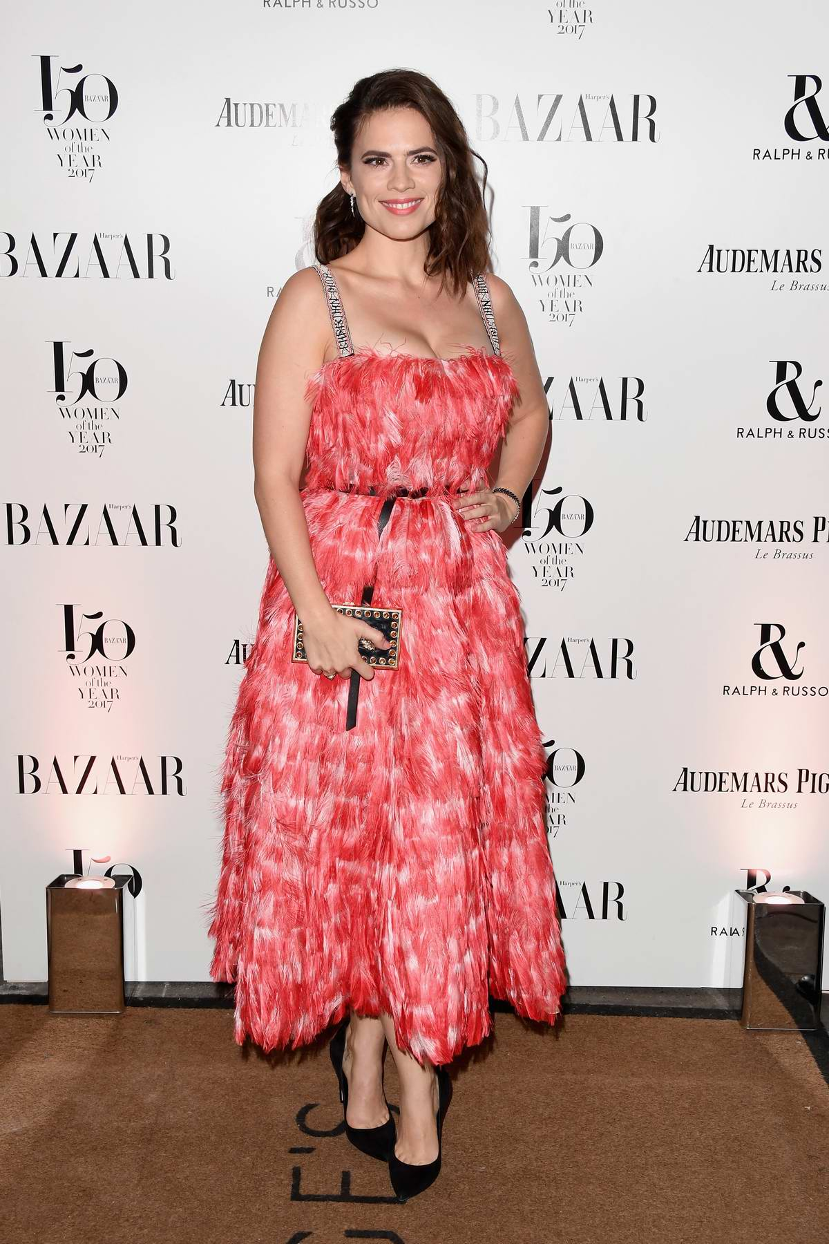 Hayley Atwell at the Harper's Bazaar Woman of the Year Awards in London