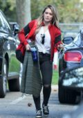 Hilary Duff takes her son to his baseball game in Studio City, Los Angeles
