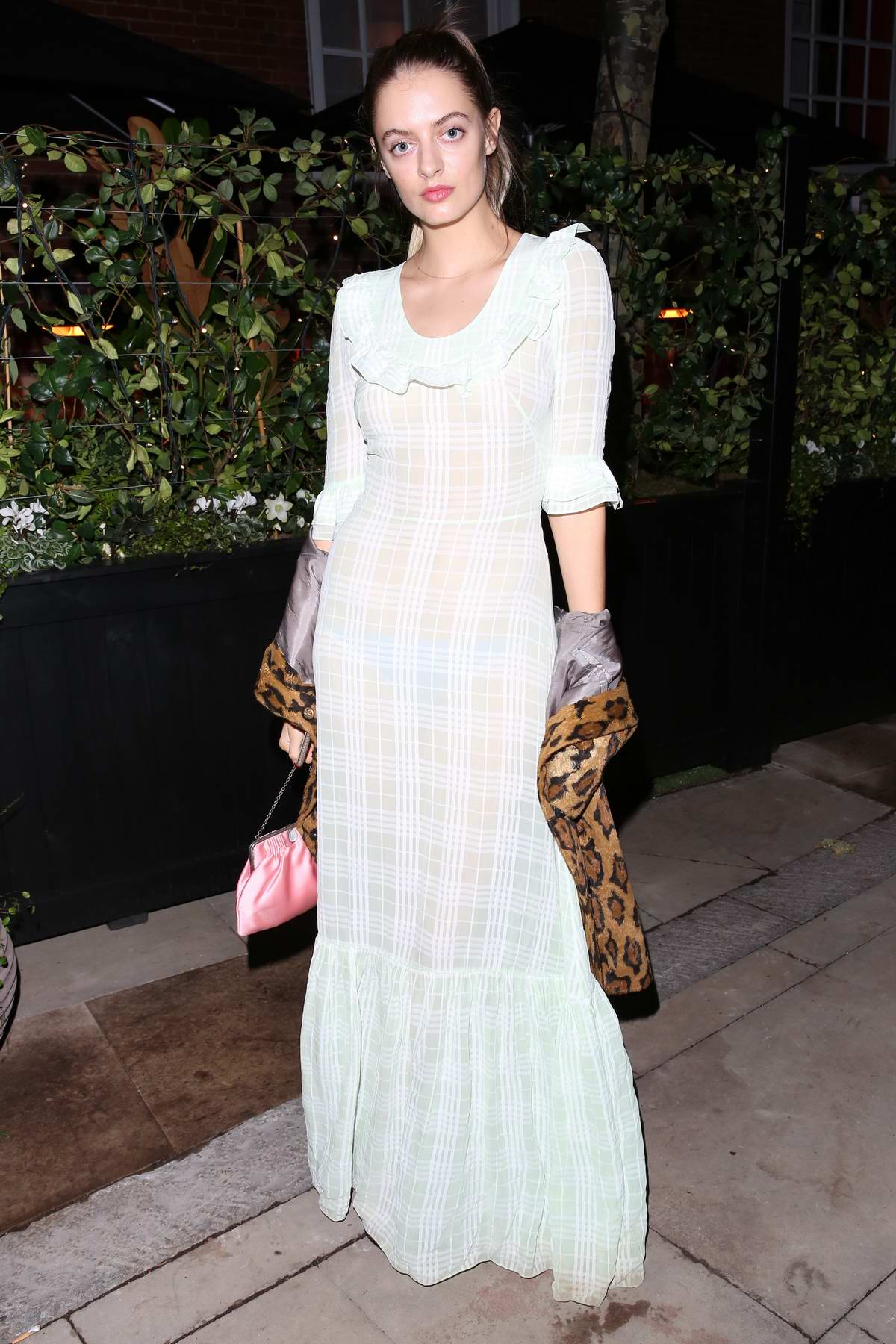 Idina Moncreiffe attends the launch party of the Coral Room, A Bar with Personality at Bloomsbury Hotel in London