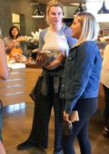 Ireland Baldwin out shopping with her friends at an organic grocery store in Los Angeles