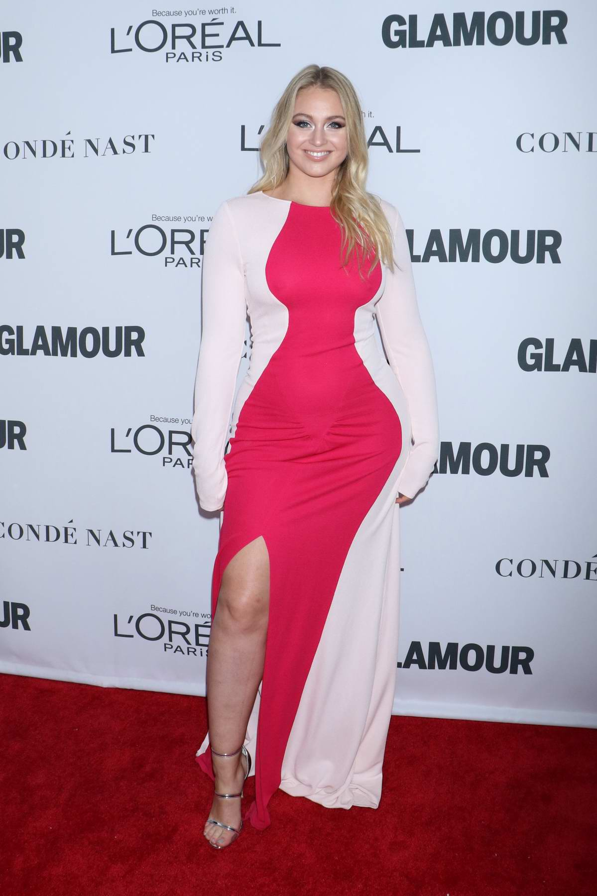 Iskra Lawrence at the Glamour Women Of The Year Awards in New York