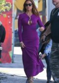Isla Fisher makes a few wardrobe changes during the day while filming 'The Beach Bum' in Miami, Florida