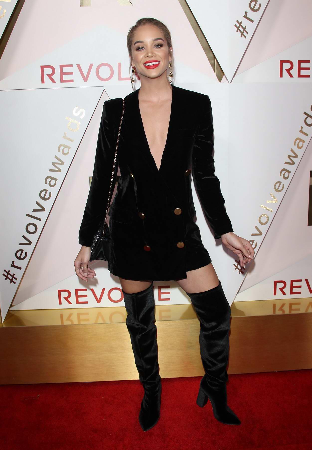 Jasmine Sanders at the REVOLVE Awards in Los Angeles