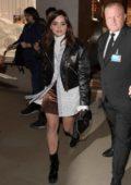 Jenna Coleman leaving Vogue Gingernutz event in London