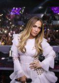 Jennifer Lopez performs at 117 Live BASE in Dubai