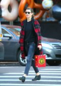 Jessica Biel seen running errands in Tribeca, New York