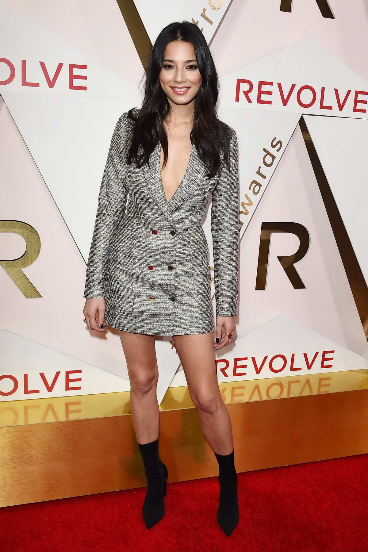 Jessica Gomes at the REVOLVE Awards in Los Angeles