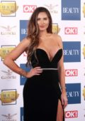 Jessica Shears at the Beauty Awards with OK! in London