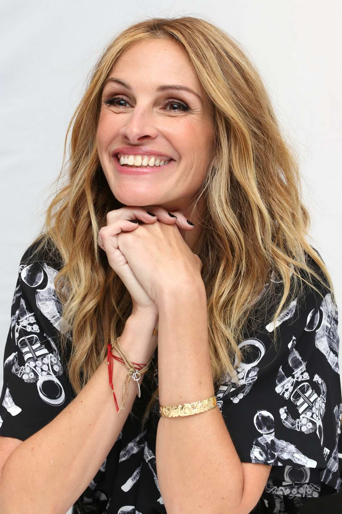 Julia Roberts at the press conference for 'Wonder' at Langham Hotel in London