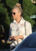 Kaley Cuoco spotted leaving a nail salon in Los Angeles