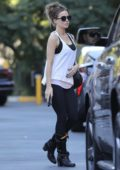 Kate Beckinsale makes a quick stop by Bristol Farms in Beverly Hills, Los Angeles