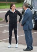 Kate Middleton visits the Lawn Tennis Association in London