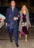 Kate Upton and Justin Verlander out to dinner at Polo bar in New York City