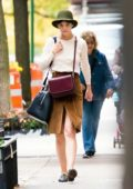 Katie Holmes is spotted out on a stroll in New York City