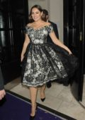 Kelly Brook leaving the British Takeaway Awards in London
