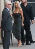 Kim Kardashian arriving at Jimmy Kimmel Live in Hollywood, Los Angeles