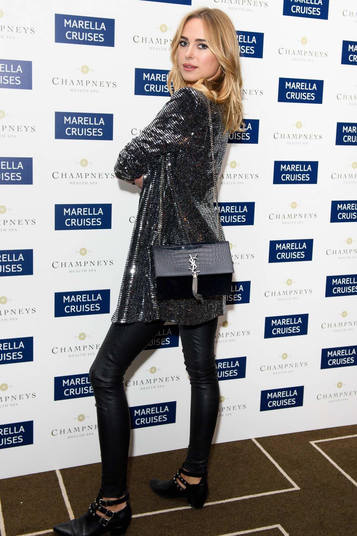 Kimberley Garner at Marella Cruises First Spa At Sea celebration in London