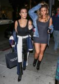 Kourtney Kardashian and Larsa Pippen are spotted out shopping in Beverly Hills, Los Angeles