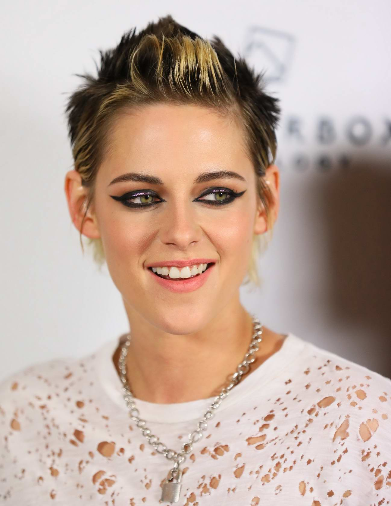 Kristen Stewart at the premiere of 'Come Swim' in Los Angeles