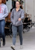 Kristin Davis steps out with a friend in Brentwood, Los Angeles