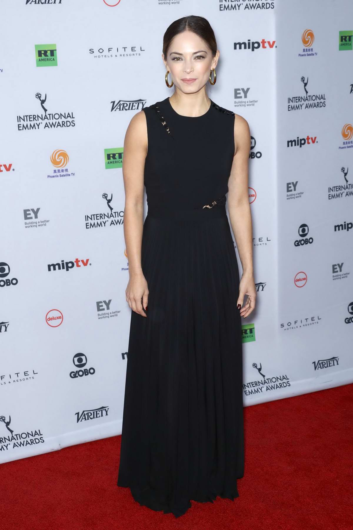 Kristin Kreuk at the International Emmy Awards 2017 in New York