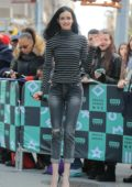 Krysten Ritter arrives to the fan event for her new book Bonfire, at Barnes & Noble booksellers Union Square in New York