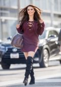Krystle Lina out and about in Beverly Hills, Los Angeles