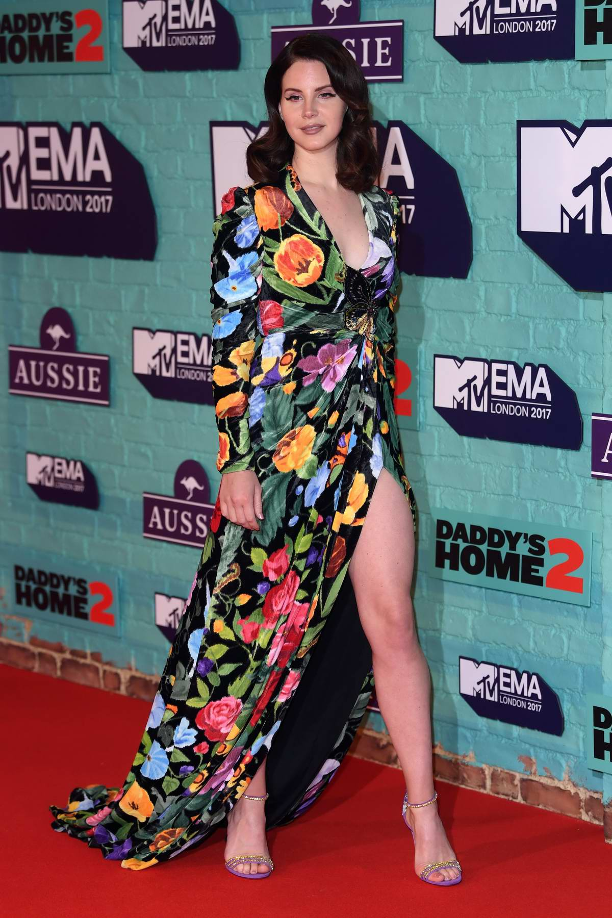 Lana Del Rey at the 24th MTV Europe Music Awards held at SSE Arena Wembley in London