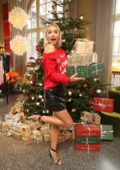 Lena Gercke at 'Christmas Sweater About You' presentation in Hamburg, Germany