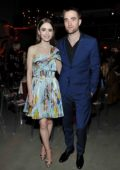 Lily Collins attends the 2017 GO Campaign Gala at Neuehouse in Hollywood, Los Angeles