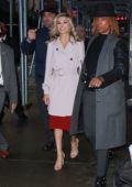 Lindsay Arnold arriving at Good Morning America in New York