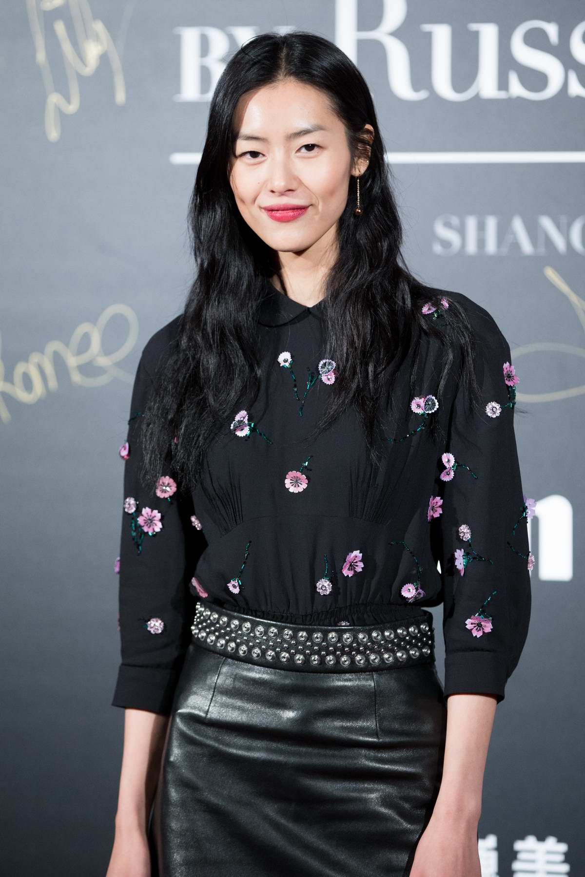 Liu Wen at Mercedes-Benz 'Backstage Secrets' by Russell James' book launch and Shanghai exhibition opening party in Shanghai, China