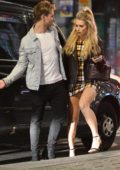 Lottie Moss and Tom Dolemore spotted during a night out in London