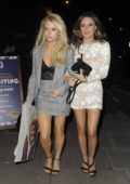 Lottie Moss seen with her friends at Bunga Bunga Battersea in London