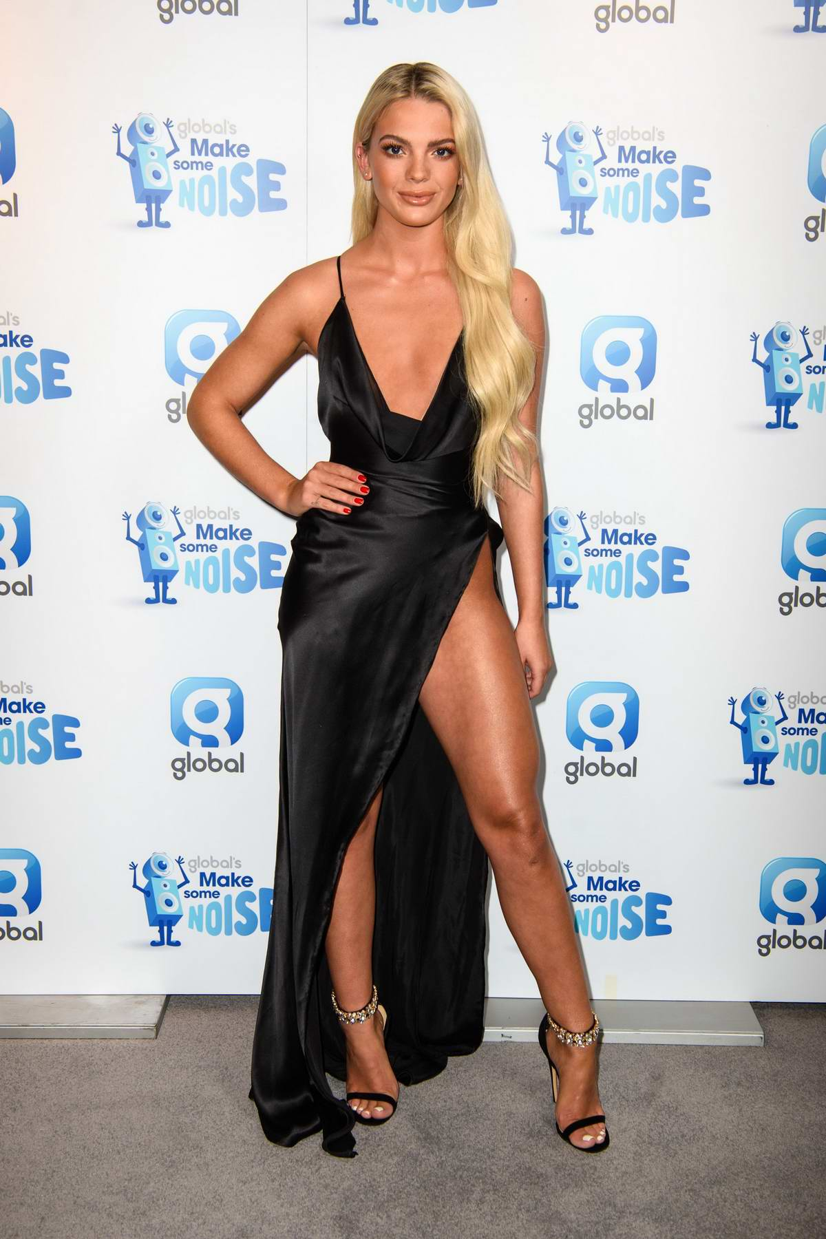Louisa Johnson at the Global's Make Some Noise night at Supernova in London