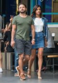 Lucy Mecklenburgh and Ryan Thomas out for a dinner date in Melbourne, Australia