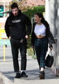 Madison Beer heading for lunch with a friend in Los Angeles