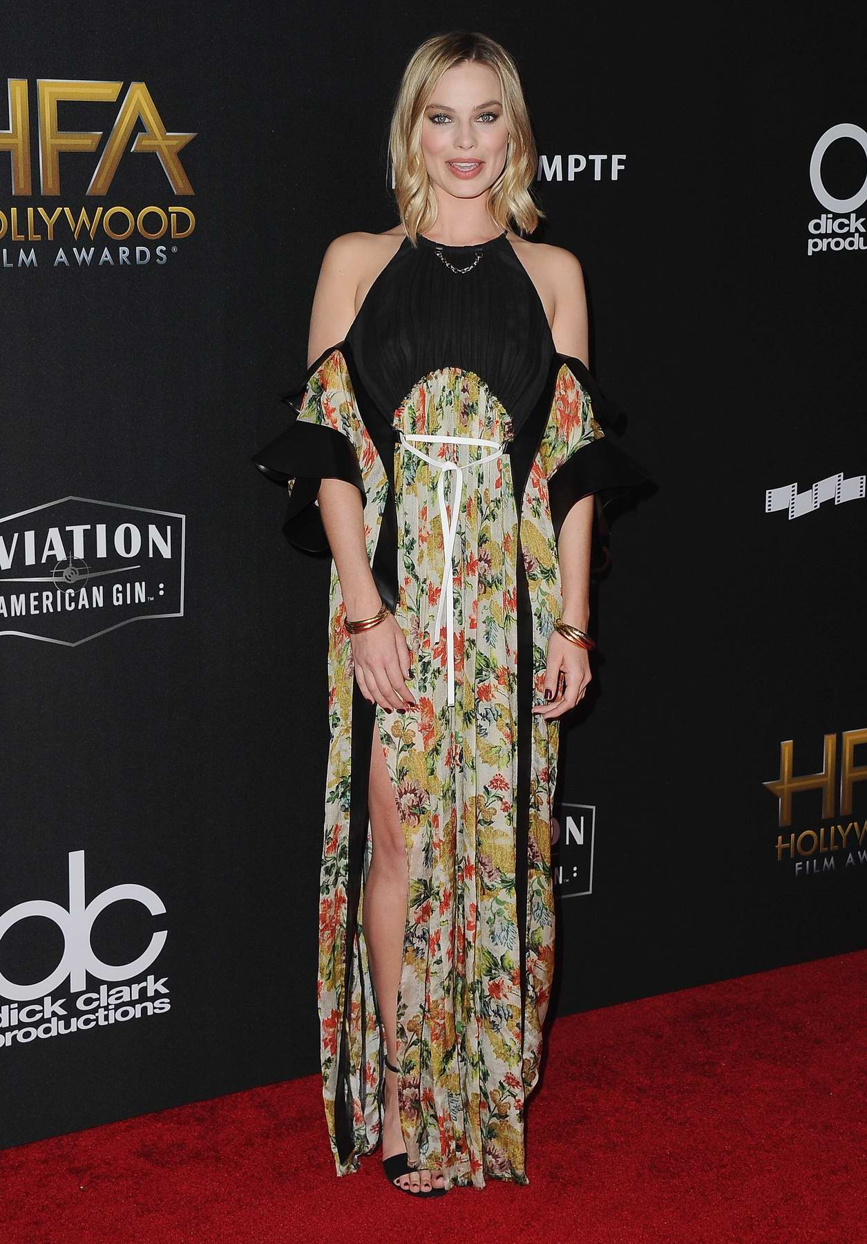 Margot Robbie attends the Hollywood Film Awards in Los Angeles