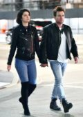 Mary Elizabeth Winstead and Ewan McGregor hold hands as they enjoy a walk out in Hollywood, Los Angeles