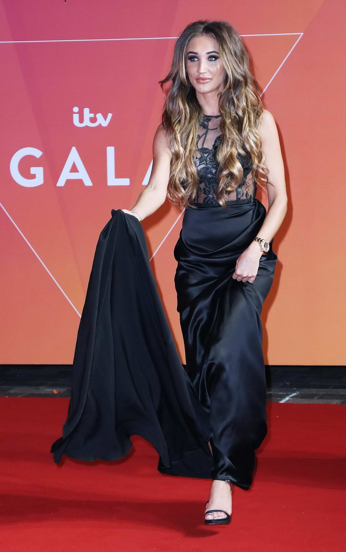 Megan McKenna at the ITV Gala at London Palladium in London, UK