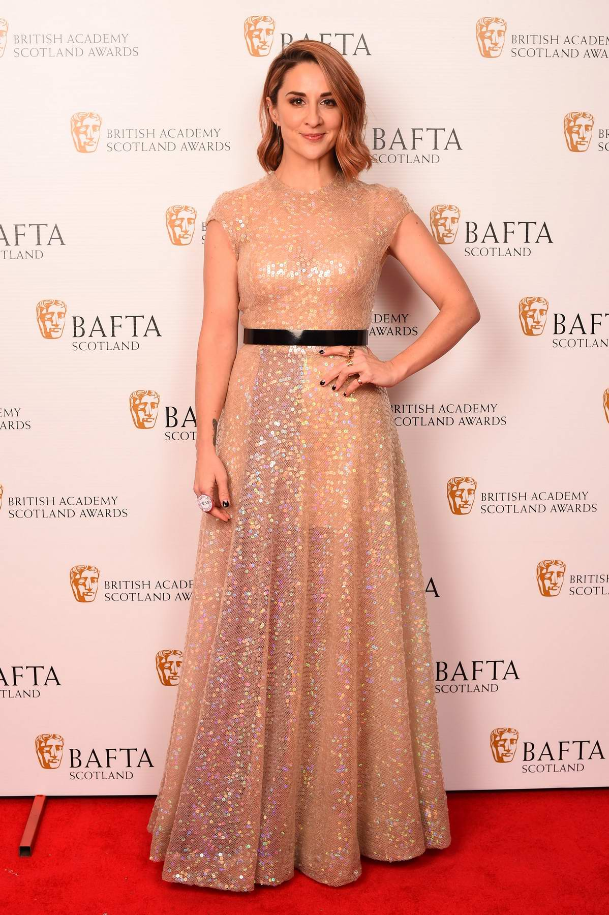 Morven Christie at the British Academy Scotland Awards in Glasgow, Scotland