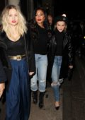 Nicole Scherzinger and Ashley Roberts enjoys a girls night out in London