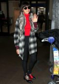Nina Dobrev spotted at LAX Airport as she arrives back from New York