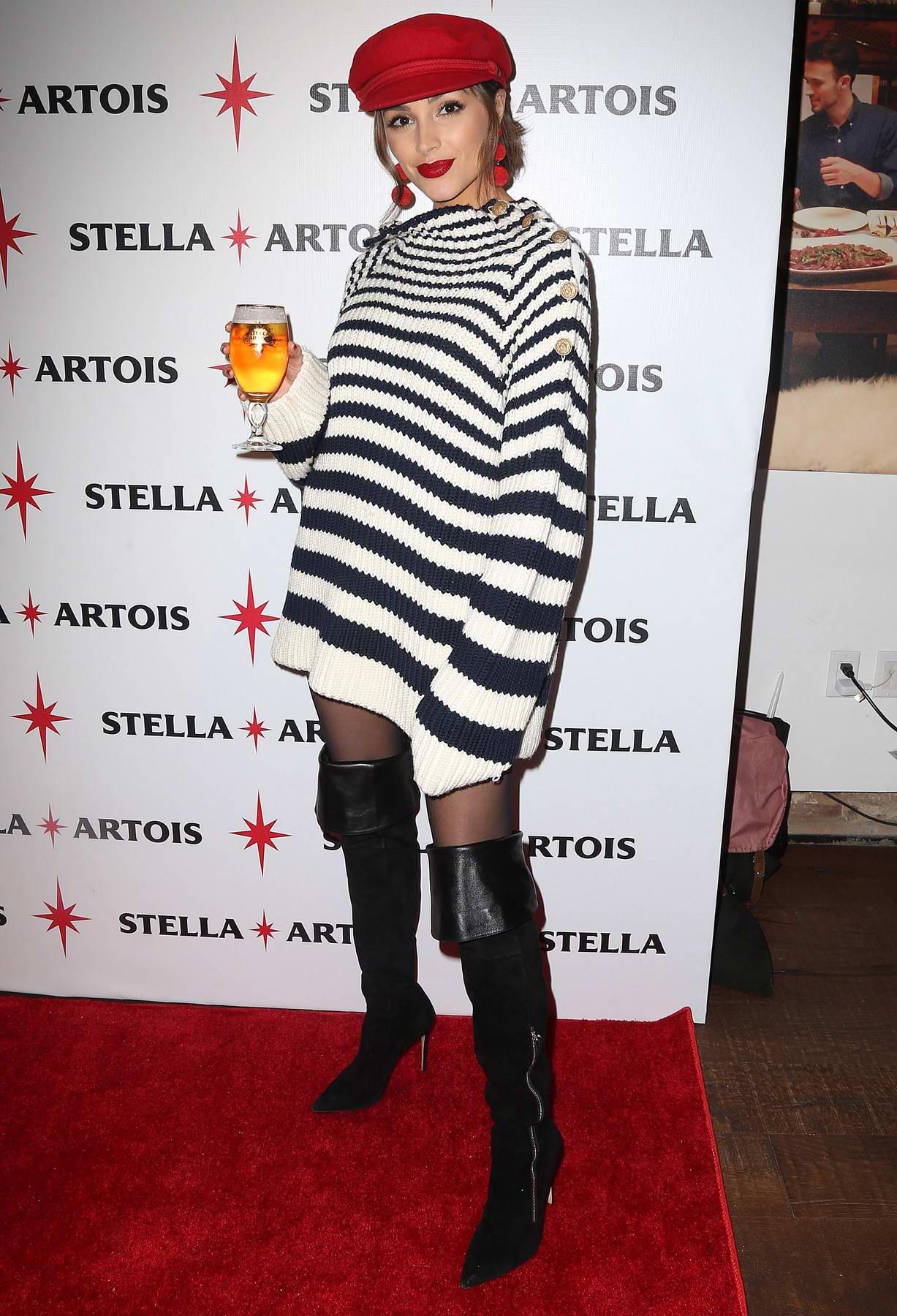 Olivia Culpo at the Stella Artois event in New York