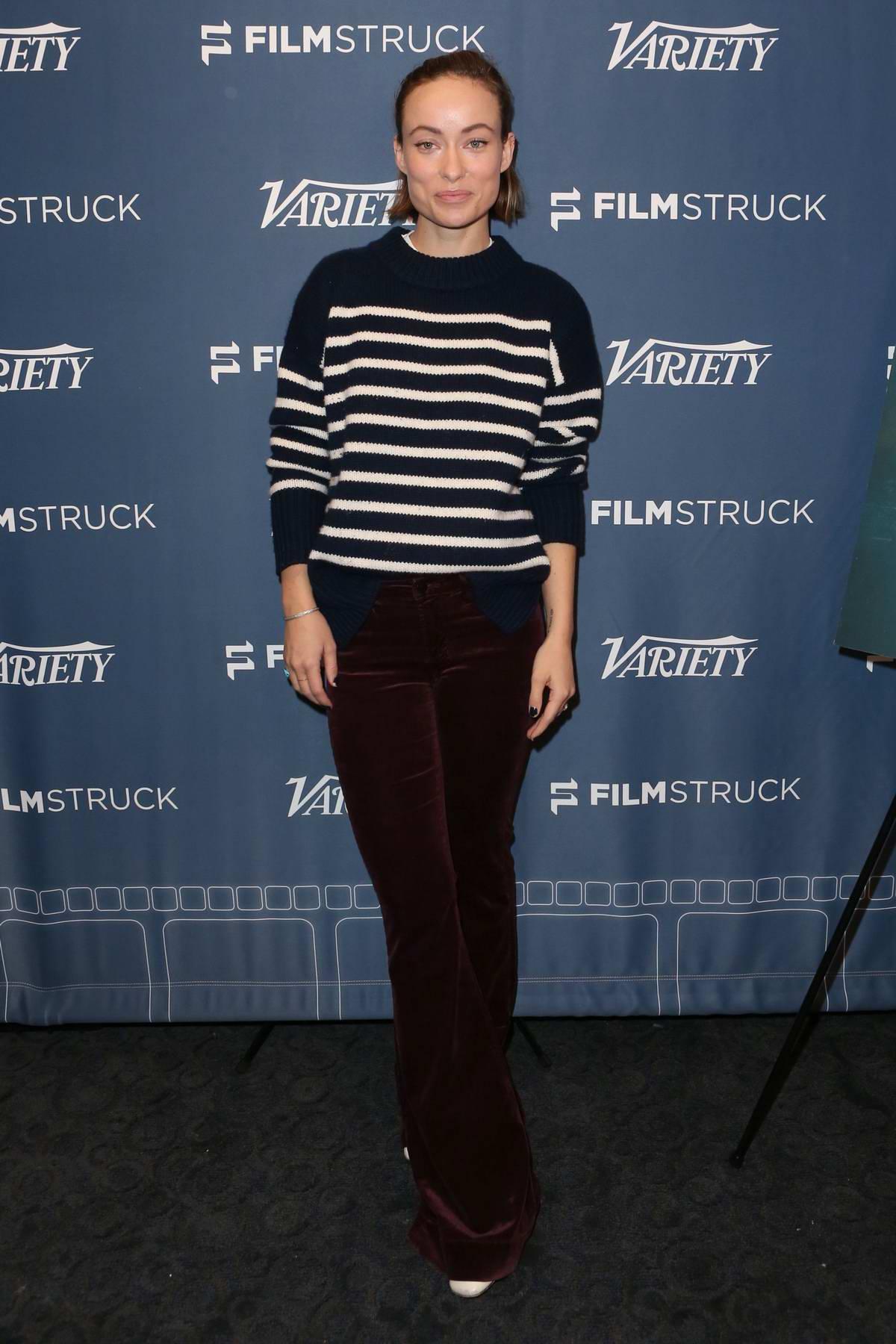 Olivia Wilde at 'Fear Us Women' variety screening series in Los Angeles
