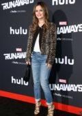 Rachel Bilson at the premiere of 'Runaways' in Los Angeles