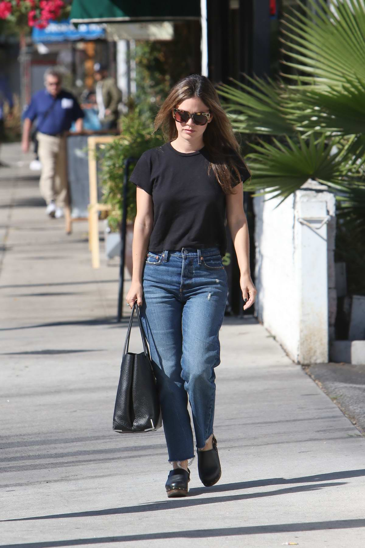 Rachel Bilson out running errands in Los Angeles