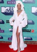 Rita Ora at the 24th annual MTV Europe Music Awards in London